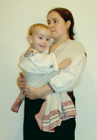 Старинный белорусский слинг - рушник
